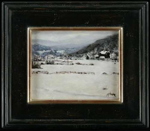 Potter Hollow in Winter: Heather Burton, Potter Hollow New York, Albany County